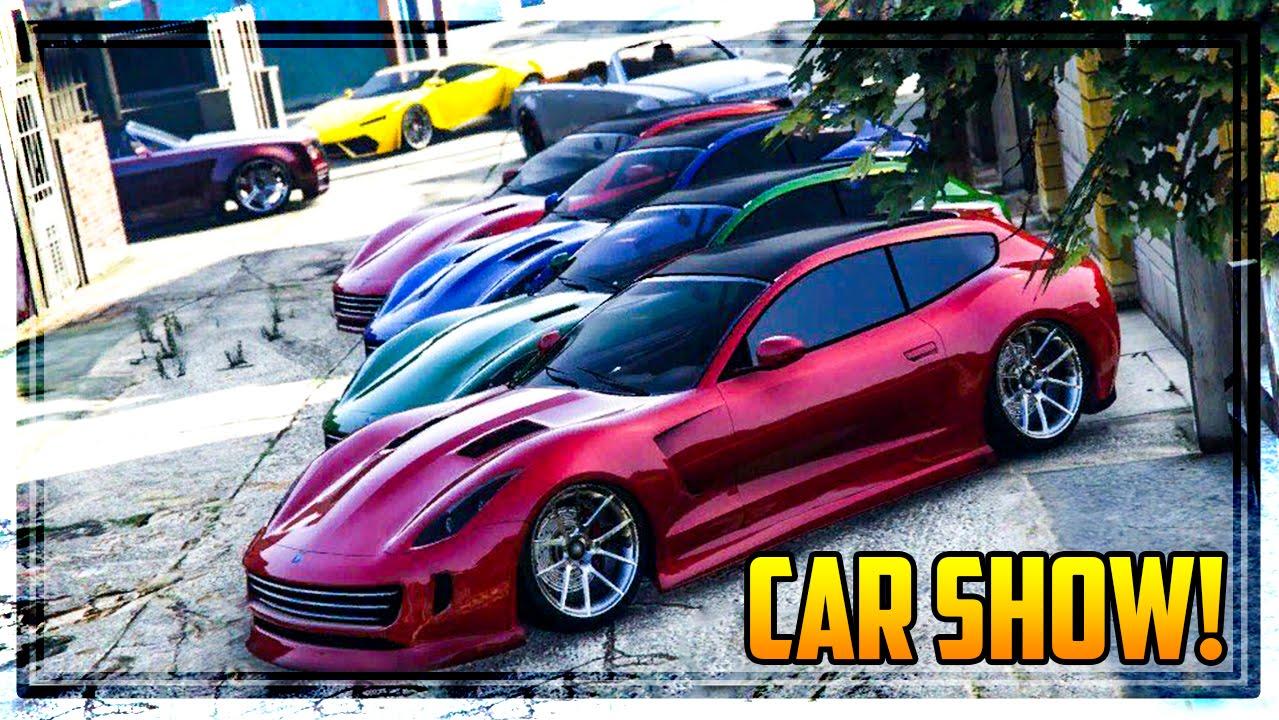 GTA Online FINANCE FELONY CAR SHOW New Super Sports Cars - Sports car show