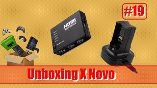 Unboxing de Novo (Carregador de Bateria/Switch(HUB) HDMI) - Parte 19