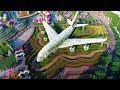 Emirates A380 in Dubai Miracle Garden | Emirates Airline