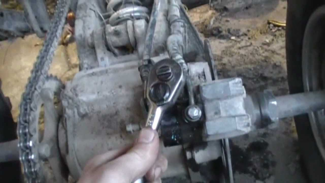 how to bleed atv brakes