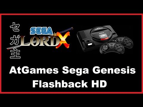 A Look at the Sega Genesis Flashback HD