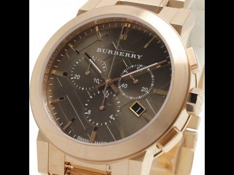 d5156e286ae Relógio Burberry BU9353 - Rose Gold - YouTube