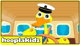 I Saw a Ship a Sailing | Nursery Rhymes | Rhymes For Kids by Hooplakidz