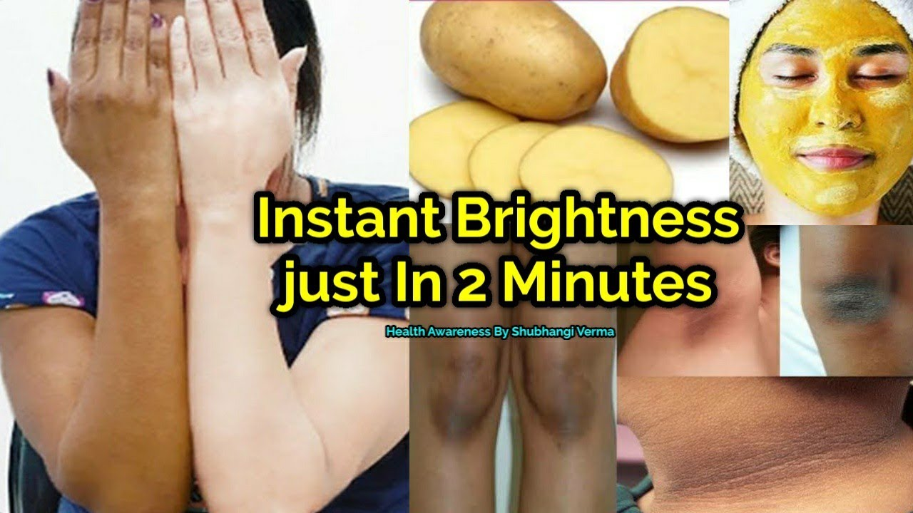 Instantly Body के हर part को करे एक दम गोरा । Skin whitening And Tighten Home Remedy 💯% Result