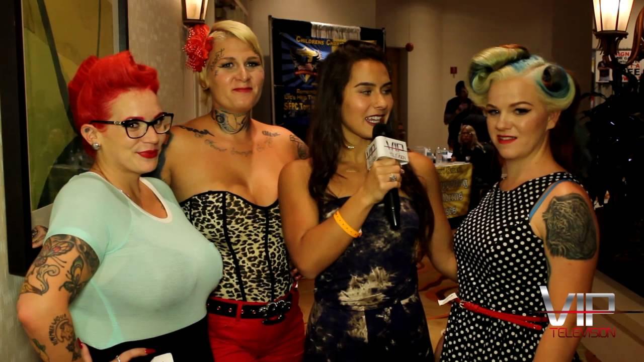 VIP TV - South Florida Tattoo Expo - YouTube