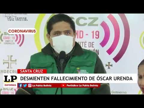 Desmienten fallecimiento de Óscar Urend...