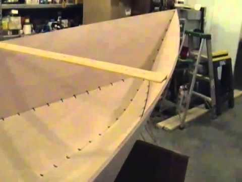 чертежи для постройки лодки методом сшей и склей