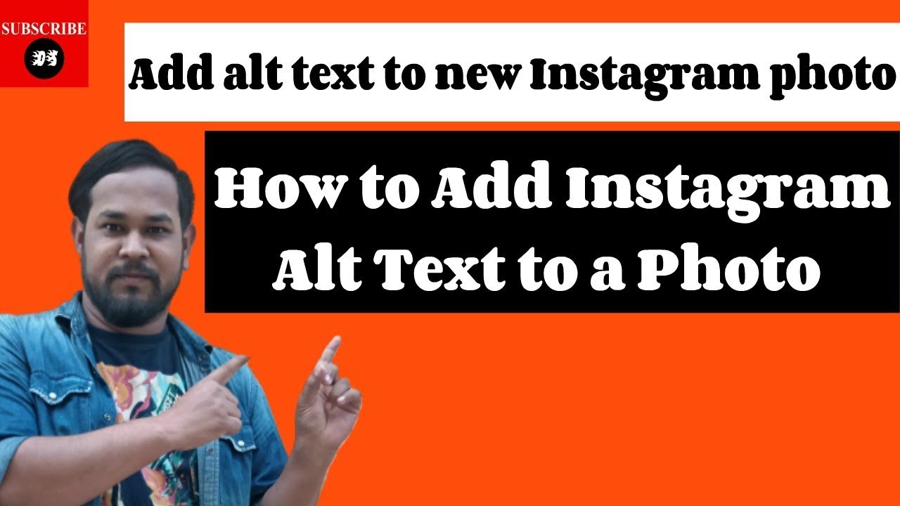 How to Add Instagram Alt Text to a Photo | Alt Text on Instagram