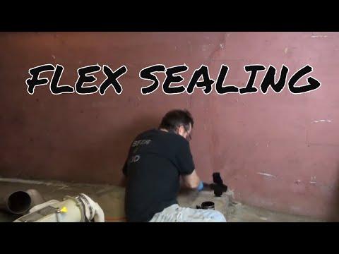 FLEX SEALING THE BASEMENT