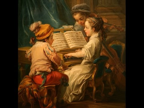 Carle van Loo paintings (1705-1765) - French painter ✽ The Arts