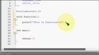Bangla C programming tutorial  75  Function Basic Return Type