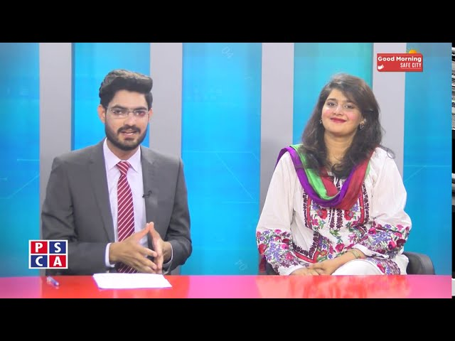 Unsung heroes of Pakistan  PSCA TV  Good Morning Safe City