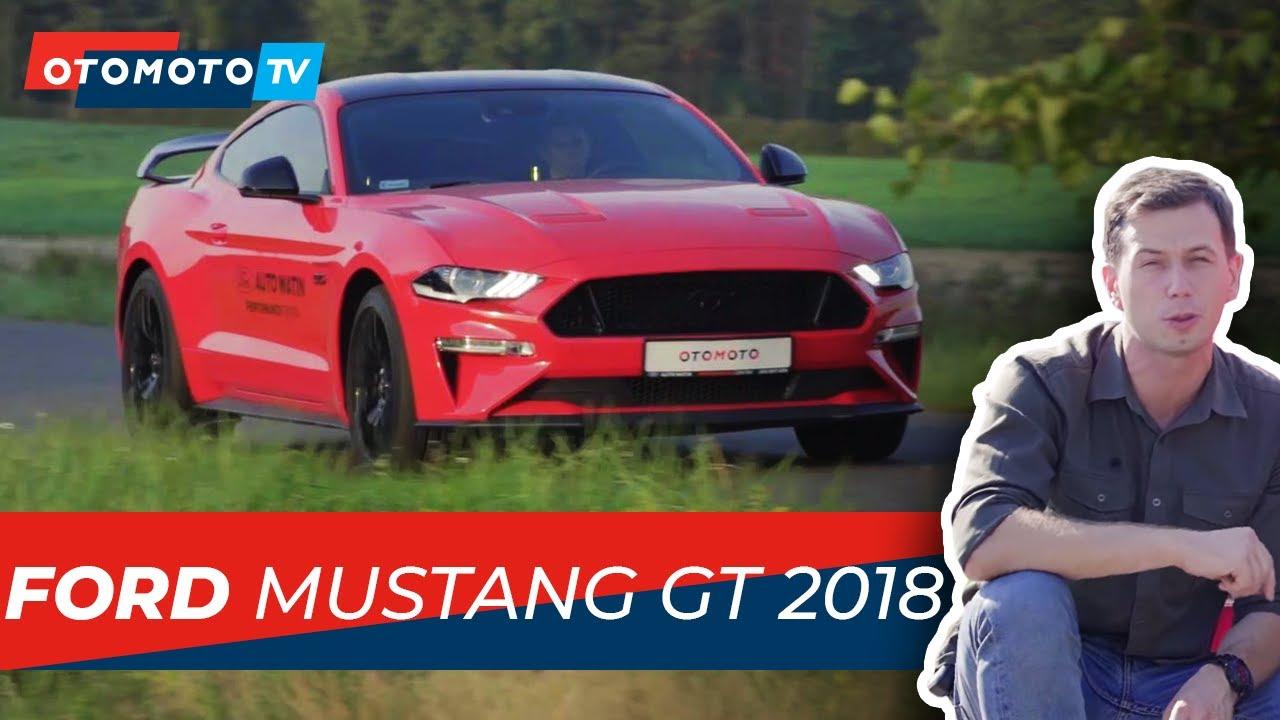Ford mustang gt 2018 godnie podtrzymuje legendę test i recenzja otomoto