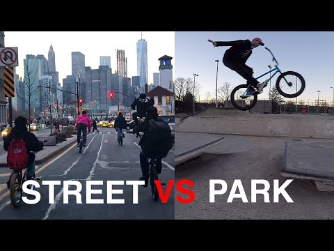 SHREDDING NYC STREETS and SKATEPARK