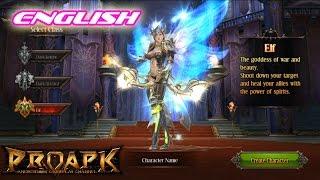 MU Origin English Gameplay : Elf (iOS/Android)