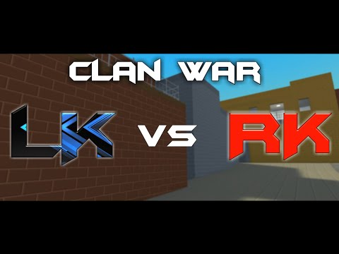 Block Strike || CLAN WAR || L.K vs RK