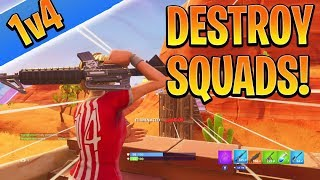 How to Win SOLO/DUO vs SQUADS in SEASON 5! How to Win in Fortnite (Console Xbox/Ps4 Tips and Tricks)