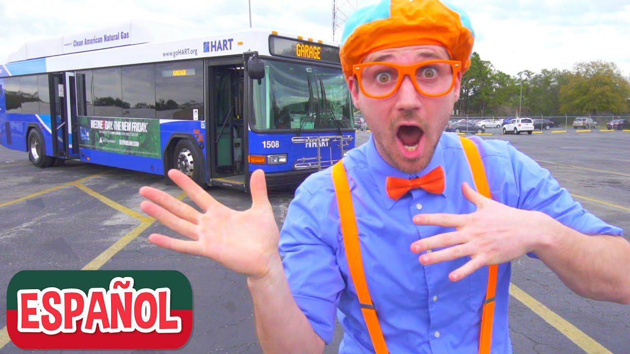 Video del Autobús para Niños con Blippi Español | Videos Educativos para Niños