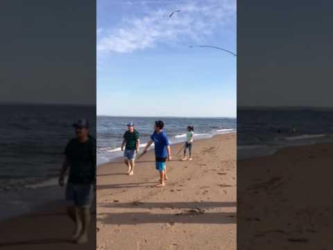 Temporada de pesca en State Island NY (com mi Familia)