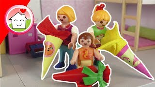 Playmobil Film Familie Hauser - Schultüten und Einschulung - Geschichten für Kinder im Mega Pack