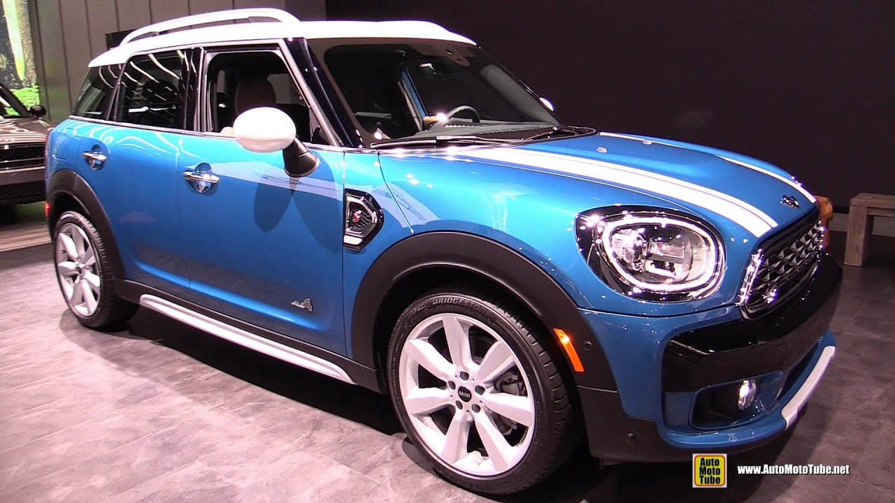 2017 Mini Cooper S Countryman All4 Exterior And Interior Walkaround Debut At 2016 La Auto Show You