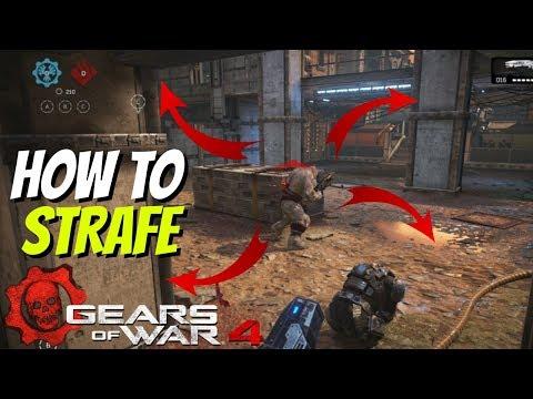 Gears of War 4: How to Strafe (Circle Strafe) (TIPS & TRICKS)