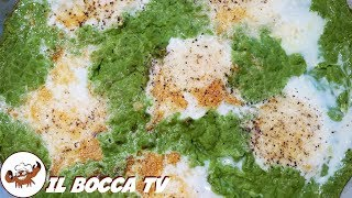 640 - Uova sul prato..me ne sono innamorato! (secondo piatto vegetariano facile veloce e e sfizioso)