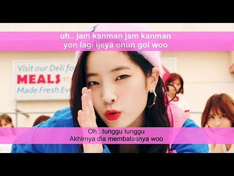 Easy Lyric TWICE - LIKEY by GOMAWO [Indo Sub]