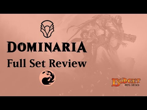 Dominaria  | Full Set Review | Red