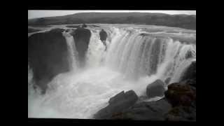 Hrafnabjargafoss waterfall, in northern Iceland