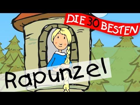 Rapunzel, Rapunzel, lass dein Haar herunter  - Märchenlieder zum Mitsingen || Kinderlieder