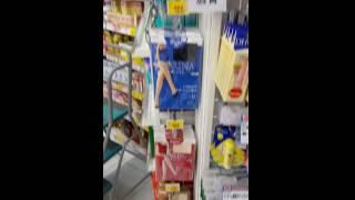 일본드럭스토어에서의스타킹판매