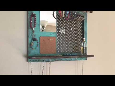 Jewelry Organizer DIY,  Jewelry display, DIY, organizer