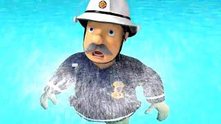 Požárník Sam nové díly 🔥 Kapitán nemůže plavat - 1 hodina Sestavení 🚒🔥Karikatura Pro Děti