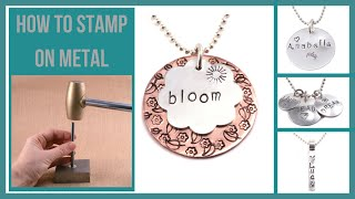 Stamping On Metal Part 1
