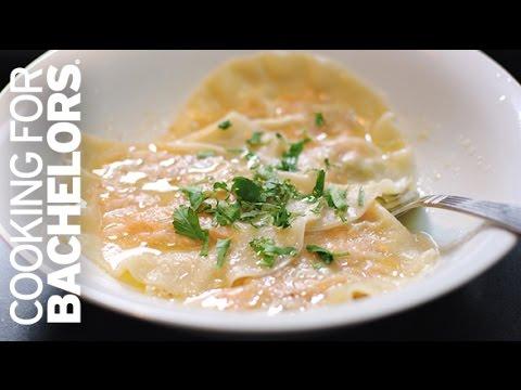 Sweet Potato Ravioli by Cooking for Bachelors® TV