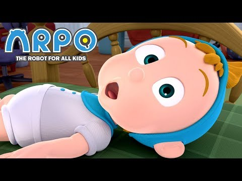 ARPO The Robot For All Kids | Blackout! | Full Episode Compilation | Cartoon For Kids