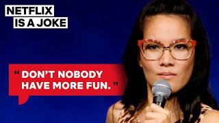 Ali Wong Wants To Be Mexican In Her Next Life | Netflix Is A Joke