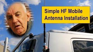 Simple HF Mobile Antenna Installation