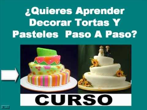 como se decora una torta paso a paso youtube On como se decora una torta