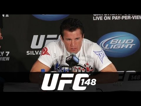 UFC 148 Press Conference Highlights
