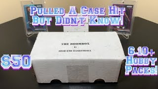The Original Boombox June's High-End Basketball Box Break - $50 w/ 6-10+ NBA Hobby Packs!