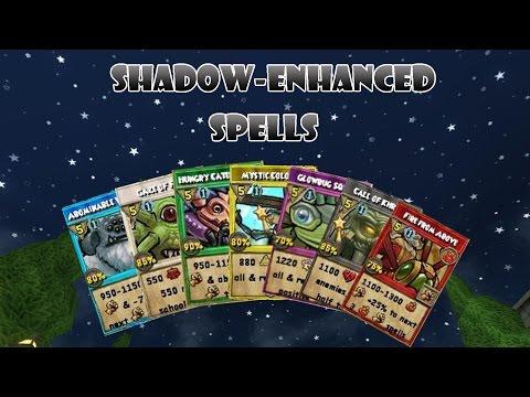 Wizard101: ALL Shadow-Enhanced