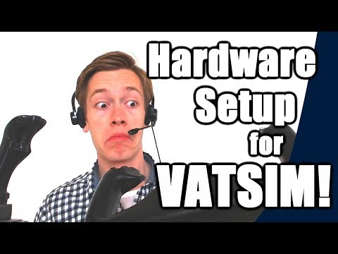 ✈️🌎 Hardware Required & Home Cockpit Setup for VATSIM! [VATSIM Tutorials 2017 - #4]