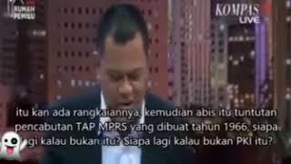 Detik-detik Gatot Nurmantyo di Permalukan atas kebodohannya yg tidak pahamnya akan sejarah bangsa