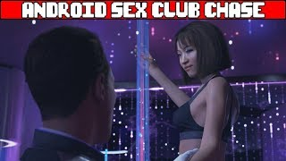 Connor & Hank at Android Sex Club DETROIT BECOME HUMAN