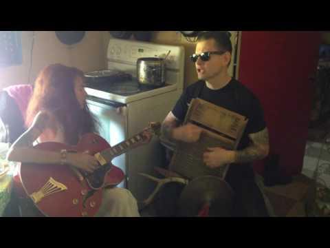 Washboard Lissa and Jake La Botz - 44 Blues