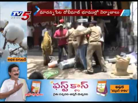 Exclusive Video | Rowdy Gang Outrageous Attack on People in Old City : TV5 News