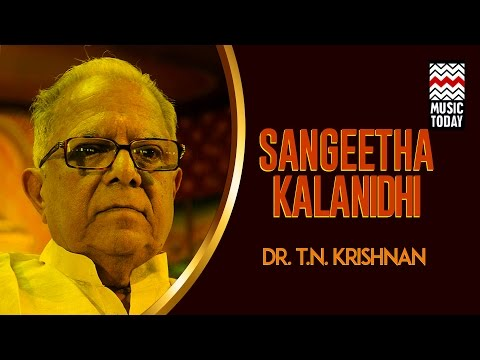 Sangeeta Kalanidhi Dr T N Krishnan | Audio Jukebox | Instrumental | Classical