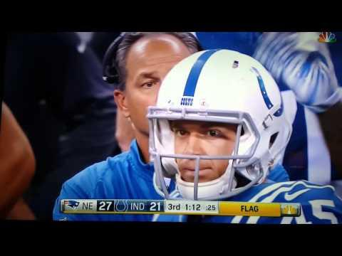 Indianapolis Colts terrible play calling. 10/18/2015. Season Changer dumb call.